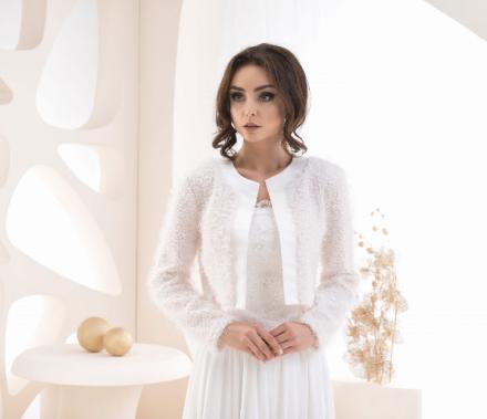 bolero sposa di lana online  b237