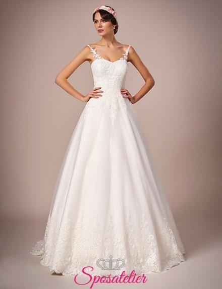 121-abit0 da sposa semplice elegante economico online italia