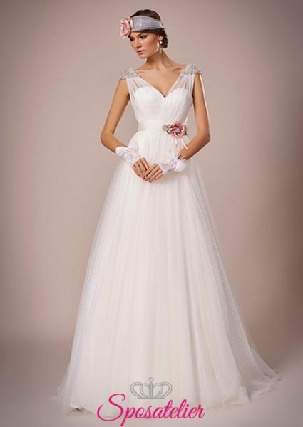 137-abito da sposa bohémien economico elegante e raffinato online