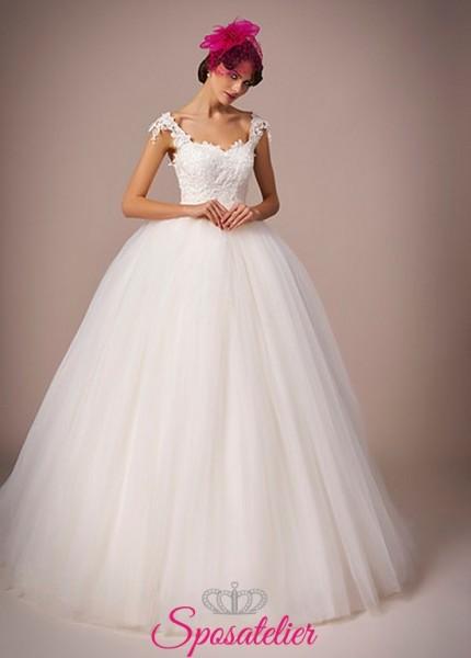 113-abiti da sposa a palloncino online italia economici collezione 2017