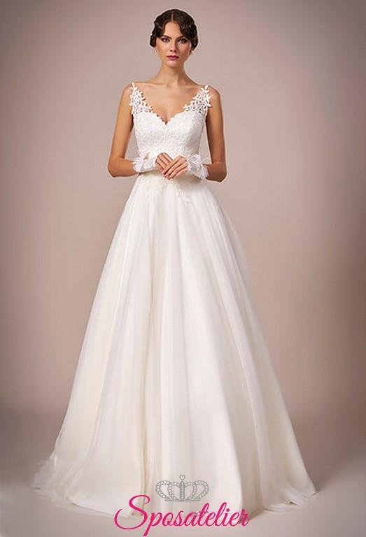 d766b32b7f 124-abiti da sposa con gonna a campana online italia