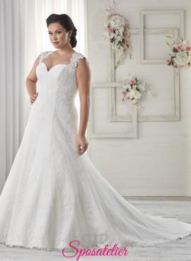 135aef11fb34 pagani- abiti da sposa 2017 taglie comode economici online