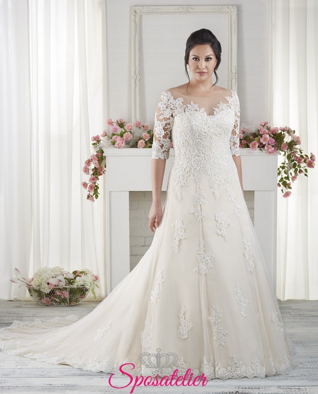 Petite Wedding Gown Designers: Sandra- Vestiti Da Sposa Online Economici Sartoria