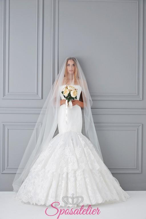12055c8ed60c Vestito Da Sposa Modello Sirena » Caltanisetta vestito da sposa ...
