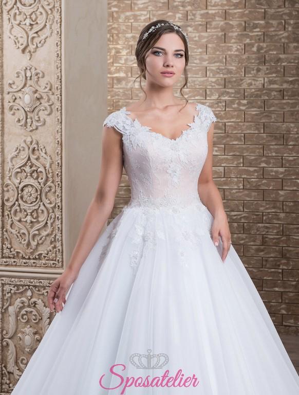 Vestiti Da Sposa 100 Euro.100 Abiti Da Sposa Bicolore Economici 2017 Onlinesposatelier