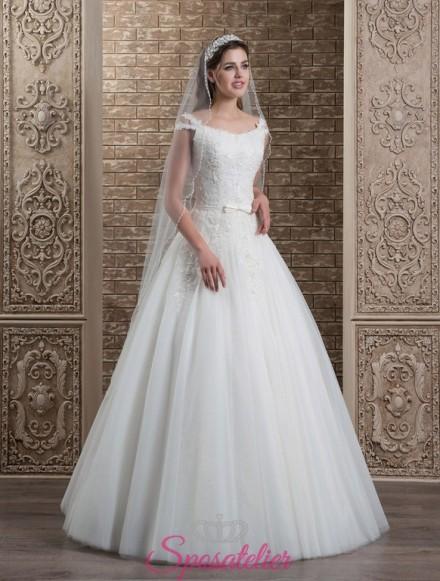 104-abiti da sposa con spalline economici 2017 online