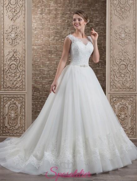 132-abito da sposa economico elegante e raffinato