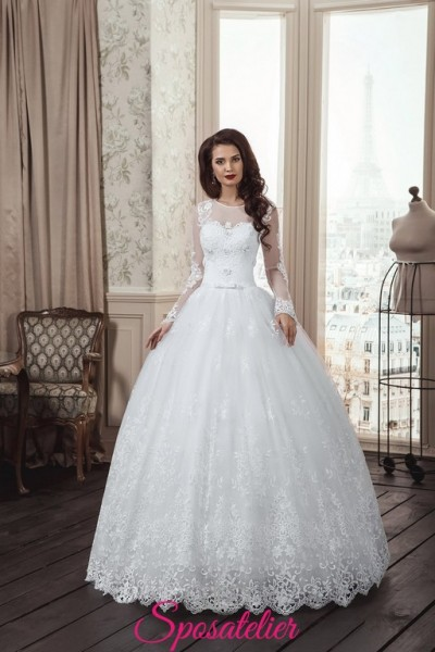 64-abiti da sposa 2017  tendenze autunnali
