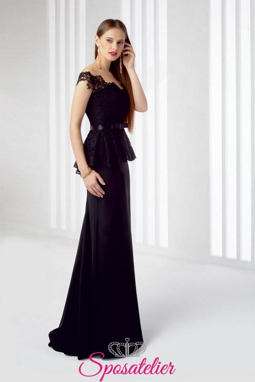 gamma esclusiva professionale ultima selezione del 2019 abiti da cerimonia elegante nero invernale 2017 economici online