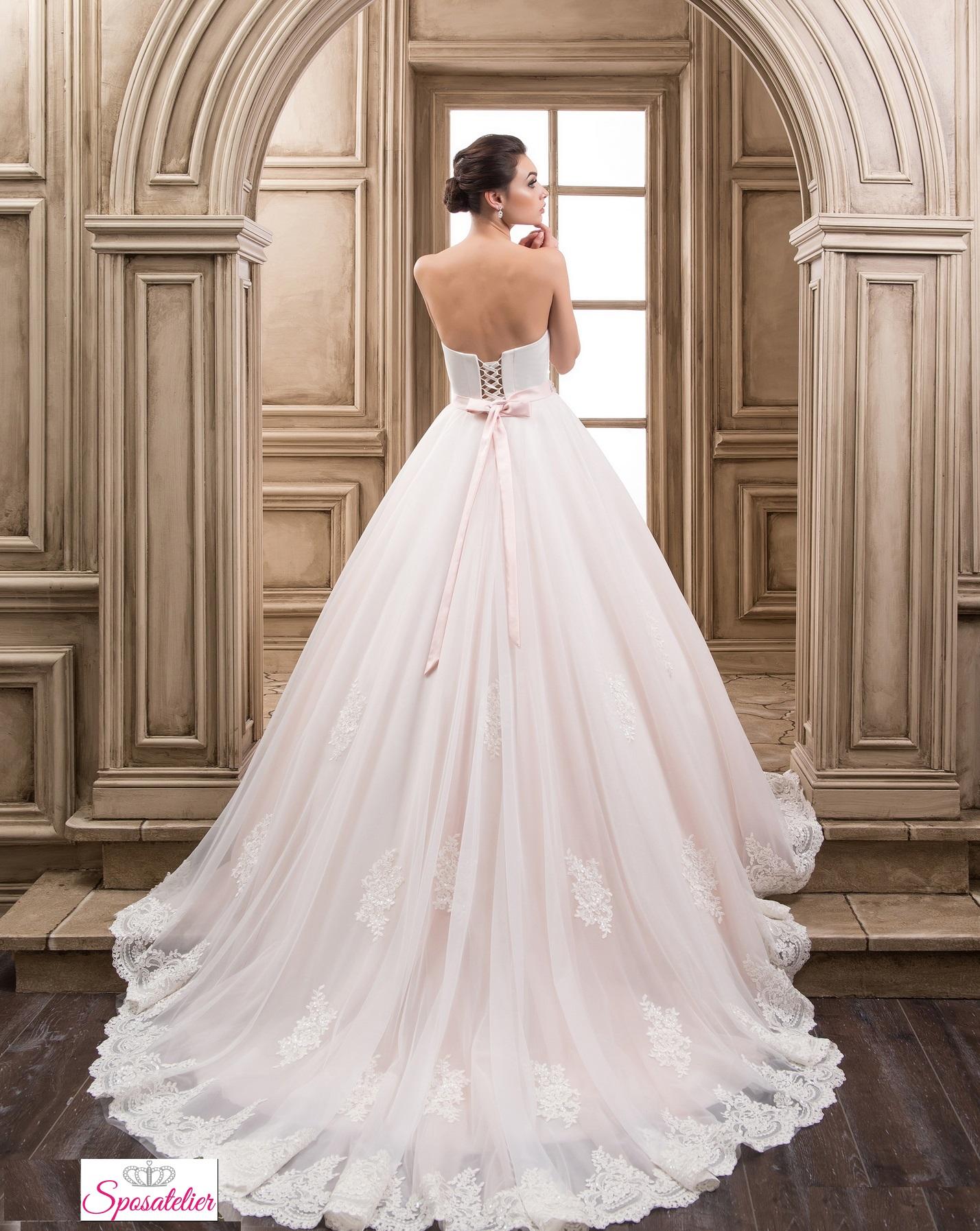 vestiti da sposa colorati economici collezione 2017Sposatelier