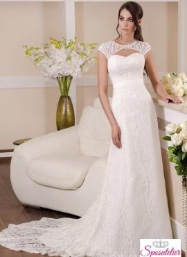 f2976a222eef Annunci abiti da sposa in pizzo economici on line collezione 2017