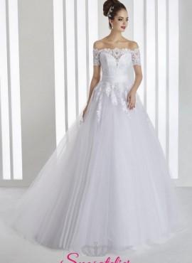 Sartoria vestito da sposa affidabile modello ampio e principesco ricamato 08c094d255e