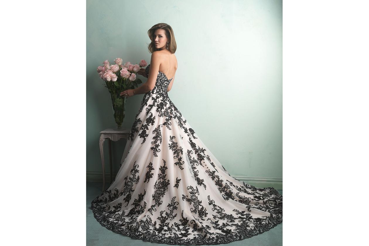 Super abiti da sposa bianchi e neri colorati rossi e neri bianchi e  KR65