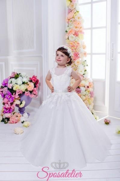 vestito prima comunione bimba principessa economico online