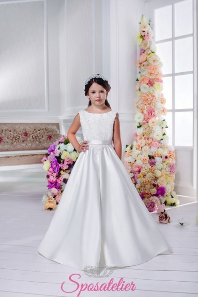 SELVAGGIA – vestito prima comunione bambina economico online