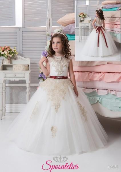 abiti damigella bambina economici  matrimonio 2017