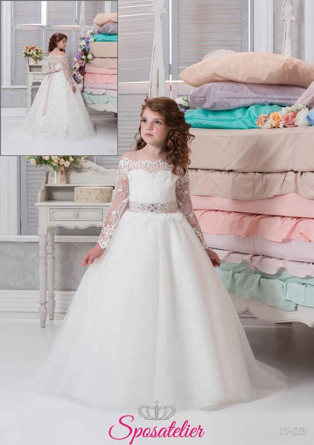 huge selection of e7057 ae363 Abiti da damigella bambina bari – Abiti in pizzo