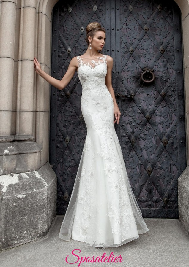 Vestiti Da Sposa Stupendi.Abiti Da Sposa Online Stupendi E Sensuali Da Principessa