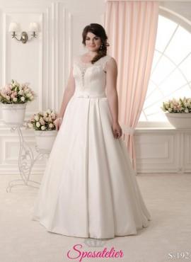 vestiti da sposa taglie extra large online 2017 economici