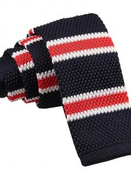 Cravatta di lana a righe
