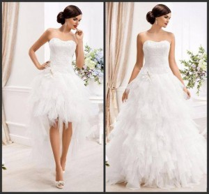 abito da sposa due in uno