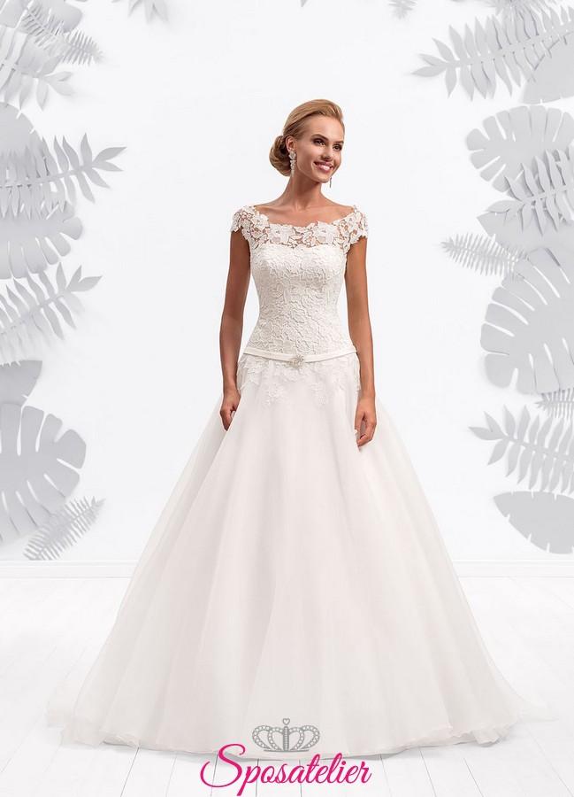 8b2d25802024 Abiti da sposa scollo omerale – Modelli alla moda di abiti 2018