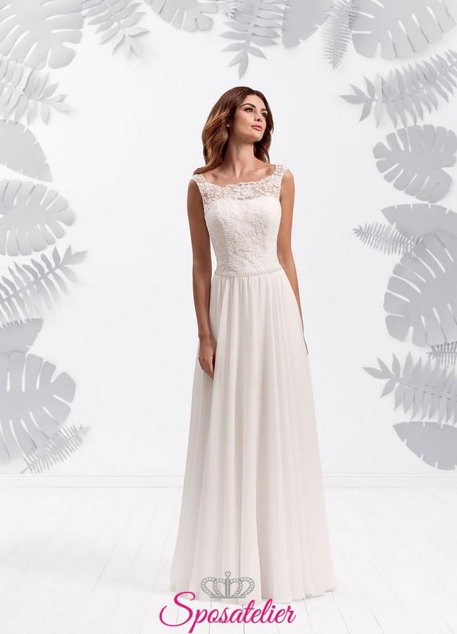 abiti da sposa stile impero economici 2017 vendita online