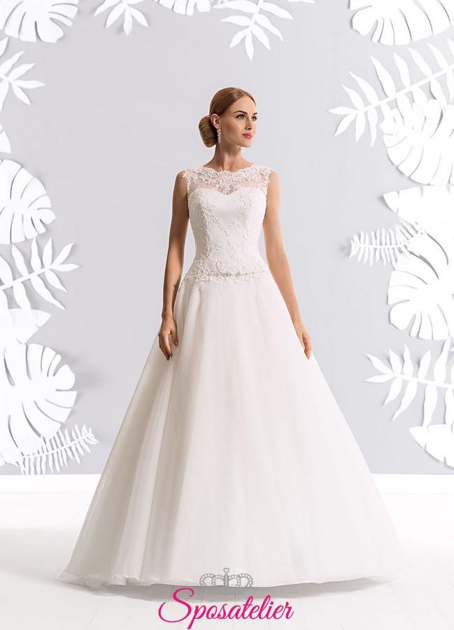 Vestiti Da Sposa Low Cost.Abiti Da Sposa Economici Online Su Misura Low Cost Spedizione