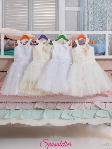 vestiti da cerimonia online per bimbe colorati