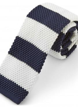 cravatta a maglia due colori