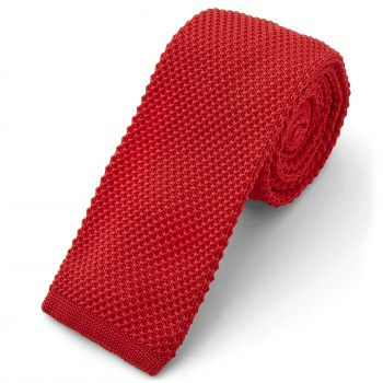 Cravatta natalizia a maglia