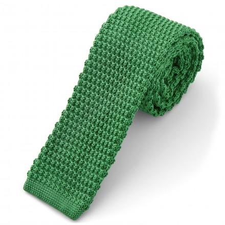 Cravatta di lana verde