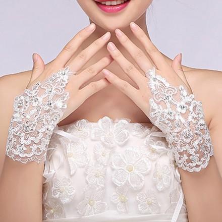 Guanti da sposa senza dita accessori sposa vendita su internet italia