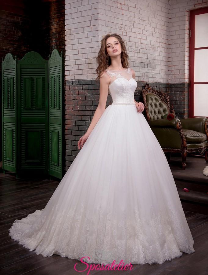 Vestiti Da Sposa Bellissimi.Abito Da Sposa Bellissimi 2017 Da Principessa Vendita