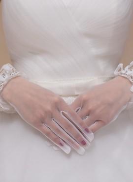 guanti sposa tulle corti online economici  accessori sposa