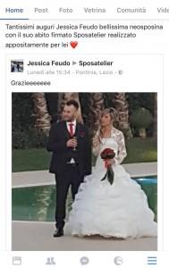 foto reale abito sposatelier