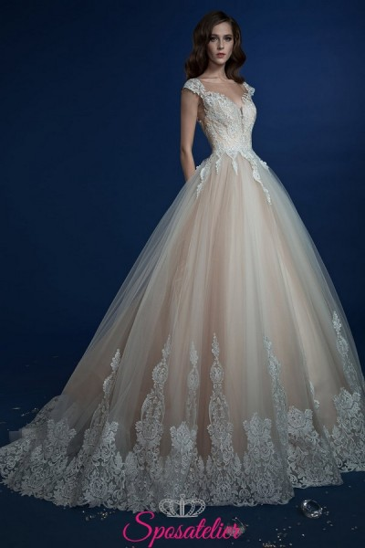 GUENDA – abiti da sposa colorati in nuances chiare online