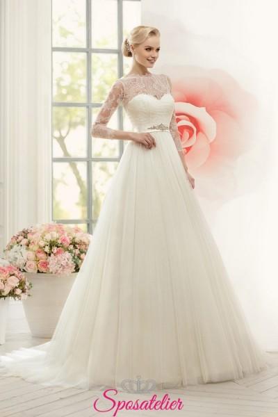 abito da sposa economico online ideale per tutti i fisici