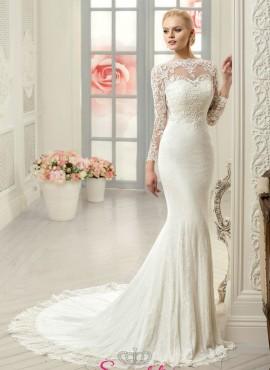 abiti da sposa a sirena ideale per donna con corporatura esile o fisico a clessidra