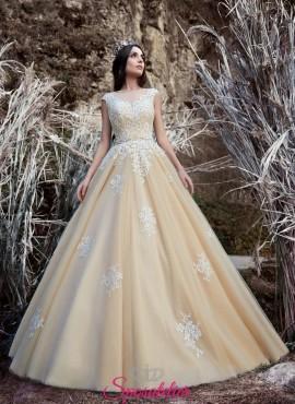 vestiti da sposa colorati online economici nuova collezione 2017