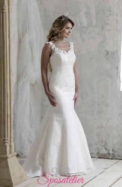 MARGY – abiti da sposa taglio sirena per taglie comode tendenze economici online