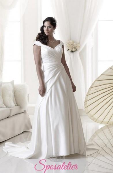 abiti da sposa contenitivi per taglie comode economici online