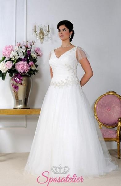 Lizzie – abiti da sposa per donne mature taglie forti economici online