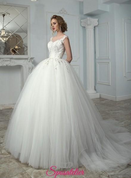 BULMA – abiti da sposa collezione 2021 a palloncino ricamato in pizzo alta qualità
