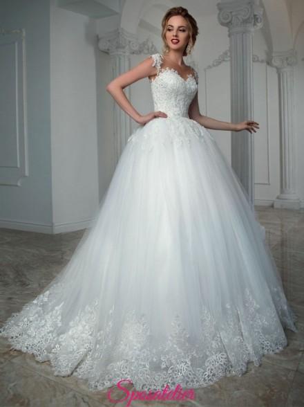 LUKREZYA – abiti da sposa pomposi con spalline collezione 2021