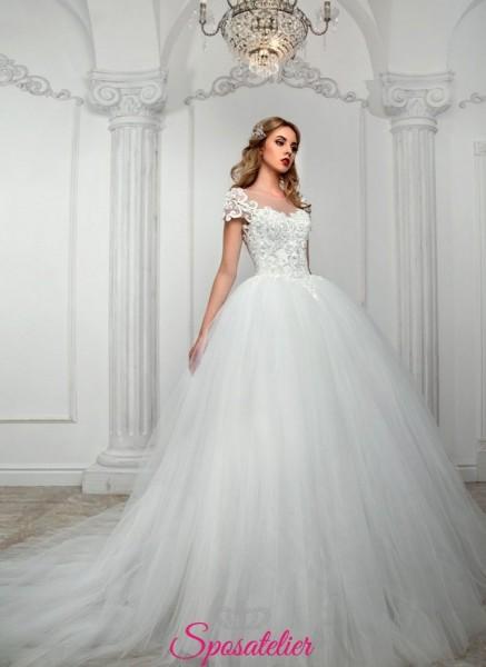 SIJEY – abiti da sposa pomposo da principessa economico vendita online