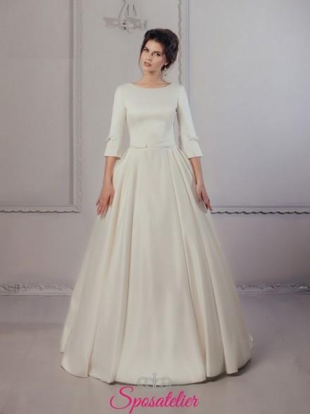 abito da sposa per matrimonio autunno inverno economici online