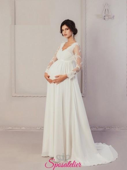 Damie – abiti per sposa in dolce attesa economici online