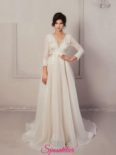GIL – vestito da sposa matrimonio vintage elegante economici online