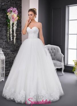 abiti da sposa con scollo a cuore,economico vendita online sartoria italiana